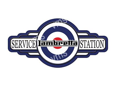 SSB006 – Service Station – 18″x9″