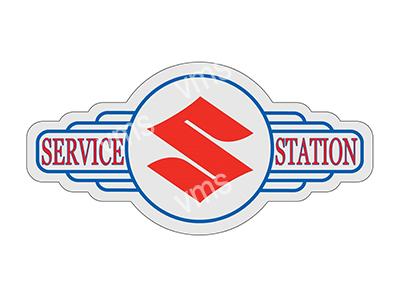 SSB010 – Service Station – 18″x9″