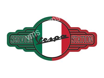 SSB012 – Service Station – 18″x9″