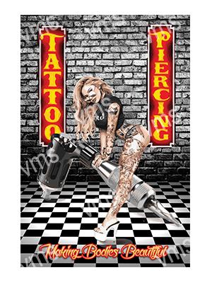 TAT006 – Tattoo & Piercing – 12″x18″
