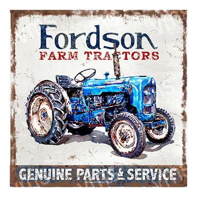 TRC002 – Farm Tractor Parts – 12″x12″