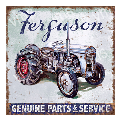 TRC003 – Genuine Parts & Service – 12″x12″