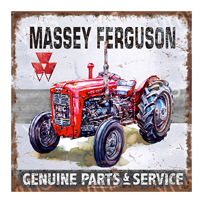 TRC004 – Genuine Parts & Service – 12″x12″