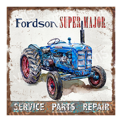 TRC006 – Genuine Parts & Service 12″x12″