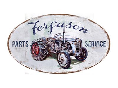 TRC008 – Parts & Service – 14″x8″ Oval
