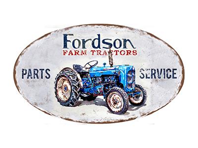TRC011 – Parts & Service – 24″x14″ Oval