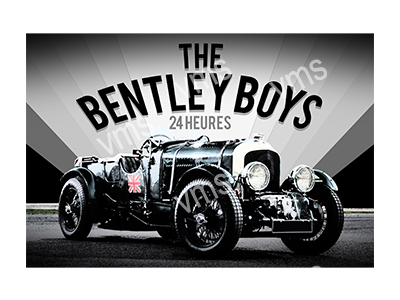 VMS008 – Bentley Boys – 18″x12″