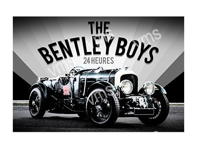 VMS008 – Bentley Boys – 18″x12″