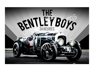 VMS009 – Bentley Boys – 24″x16″