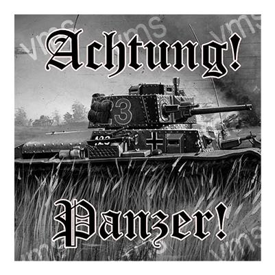 WAR006 – Panzer – 12″x12″