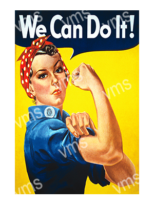 WAR010 – We Can Do It – 8×12