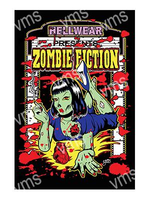ZMB001 – Zombie Fiction – 12″x18″