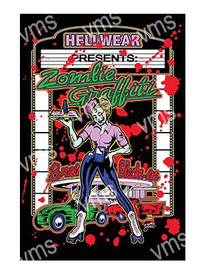 ZMB005 – Zombie Graffiti – 12×18