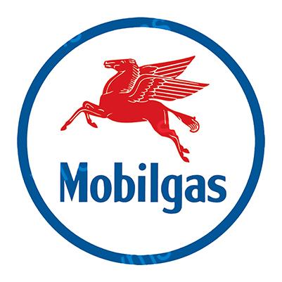 MBL001 – Mobil Gas – 14″ Round