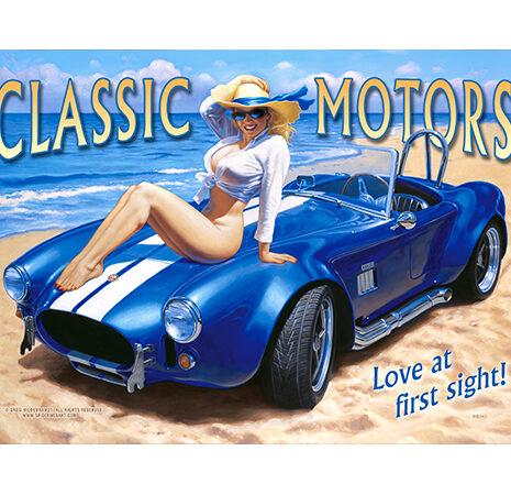 Pin0018 – Classic Motor – 12″x18″