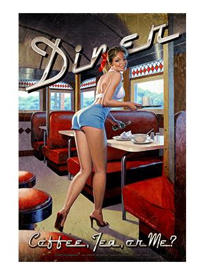 Pin002 – Diner – 12″x18″