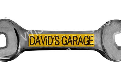 SPN008 – David's Garage Spanner – 18×5