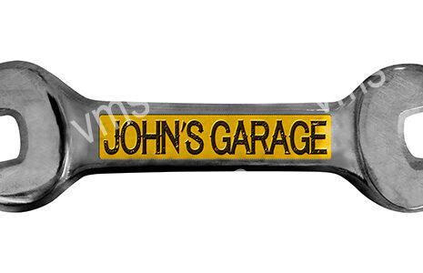 SPN012 – John's Garage Spanner – 18×5