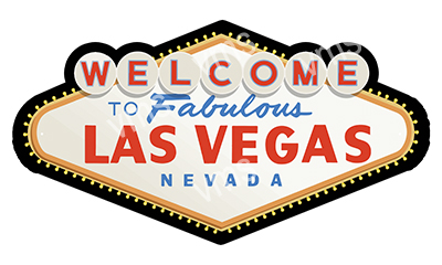 VGS001 – Welcome To Vegas – 15″x8″