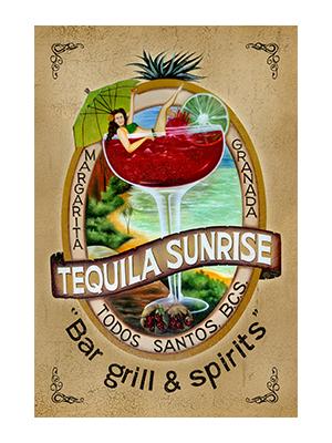 AFD004 – Tequila Sunrise – 12″x18″