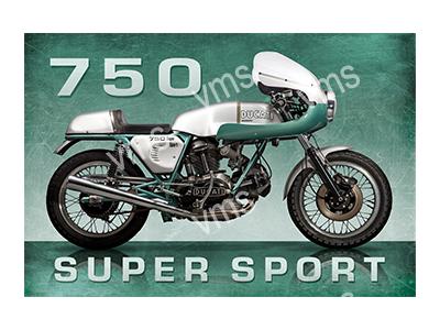 AMB001 – Super Sport 750 – 18″x12″