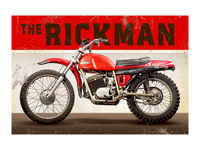 AMB004 – Rickman – 18″x12″