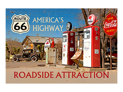 AR66001 – Roadside Attraction – 18″x12″
