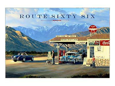 AR66003 – Route 66 – 18″x12″