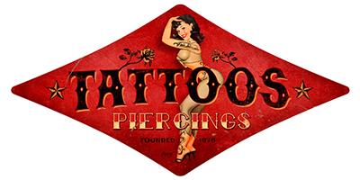 ATAT001 – Tattoo & Piercing – Diamond 28″x14″