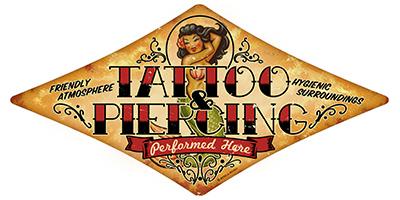 ATAT002 – Tattoo & Piercing – Diamond 28″x14″