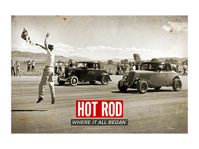 HRM001 – Drag Race – 18″x12″