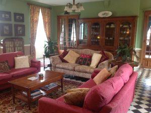 Maitre sitting room