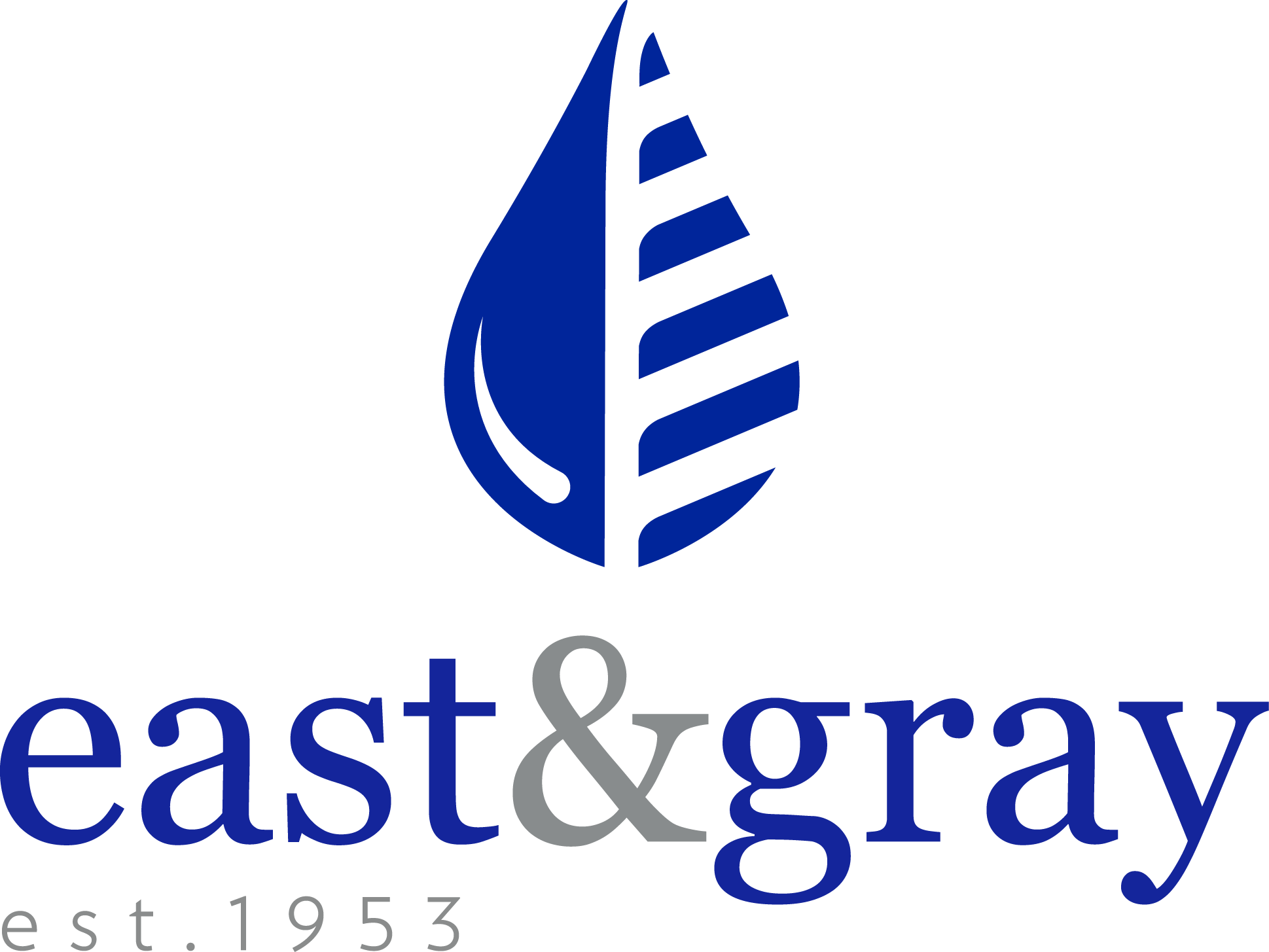 East and Gray