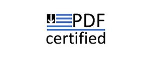 PDF Certified
