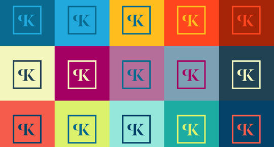 Kharlamova logo design