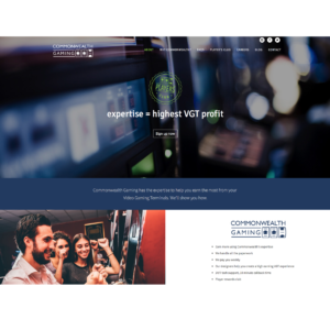 website design commonwealth gaming