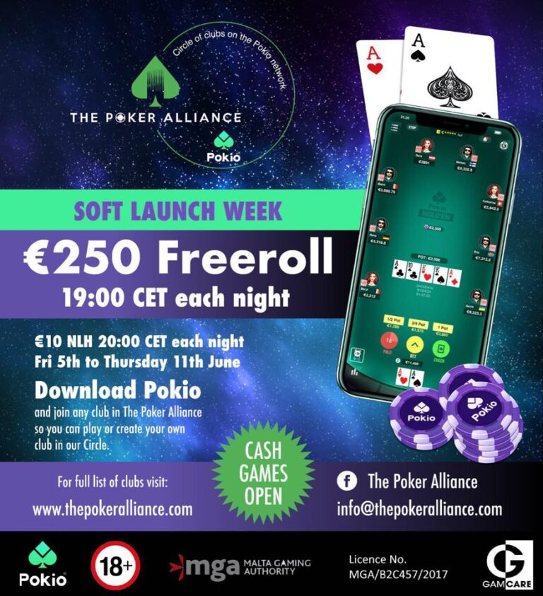 pokio круг the poker alliance
