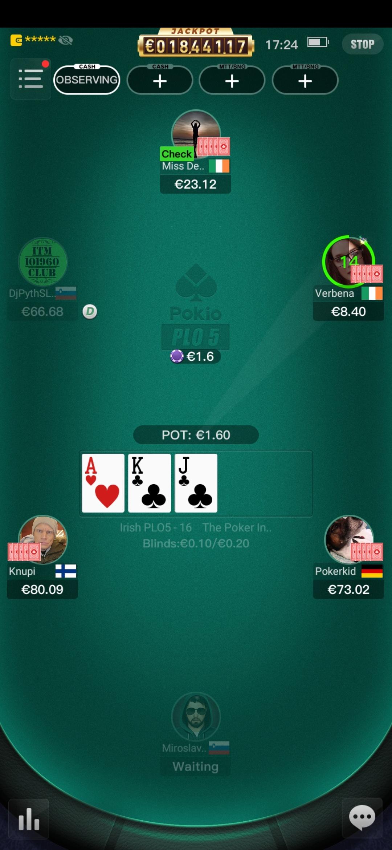 pokio Poker Omaha Plo5