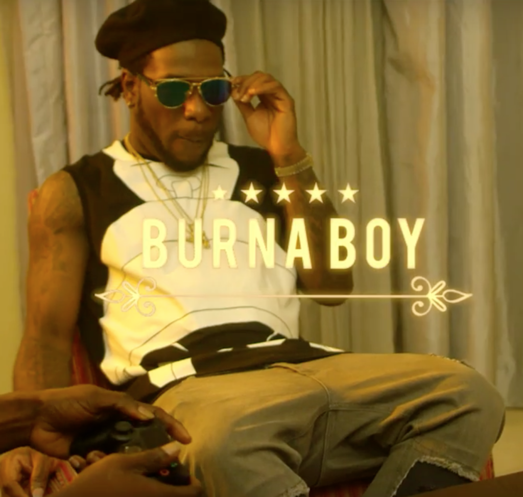 New Video - Burnaboy - Rizzla
