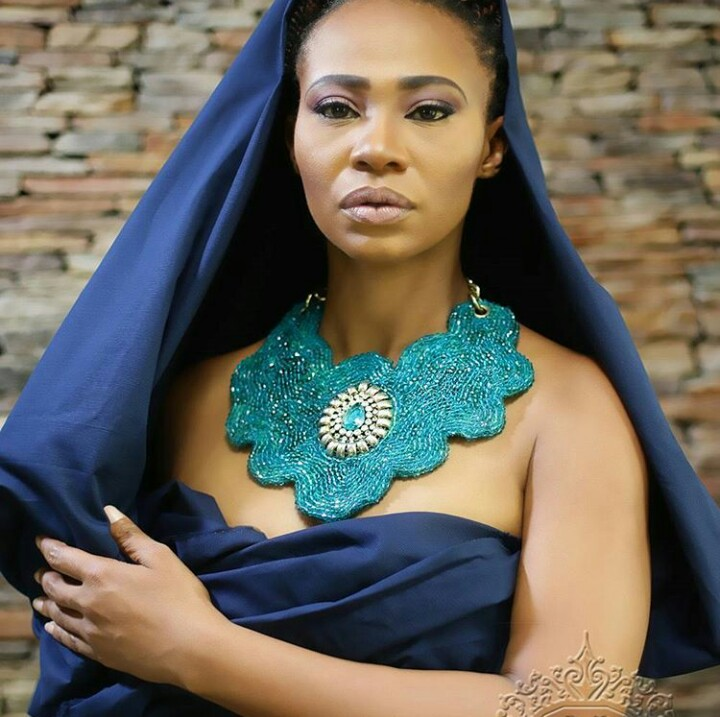 Photo of Nollywood Actress Nse Ikpe Etim Models for New Jewelry Line