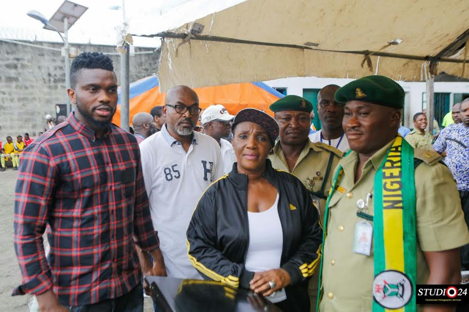 Photo of Joseph Yobo Foundation Launches Football Academy in Prisons