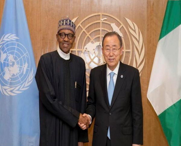 """Photo of """"….You Are Highly respected…"""", Banky Moon Tells Buhari"""