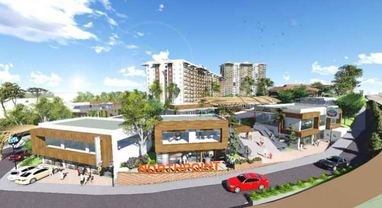 A DIGITAL rendition of the planned commercial development in Camella Northpoint Davao.