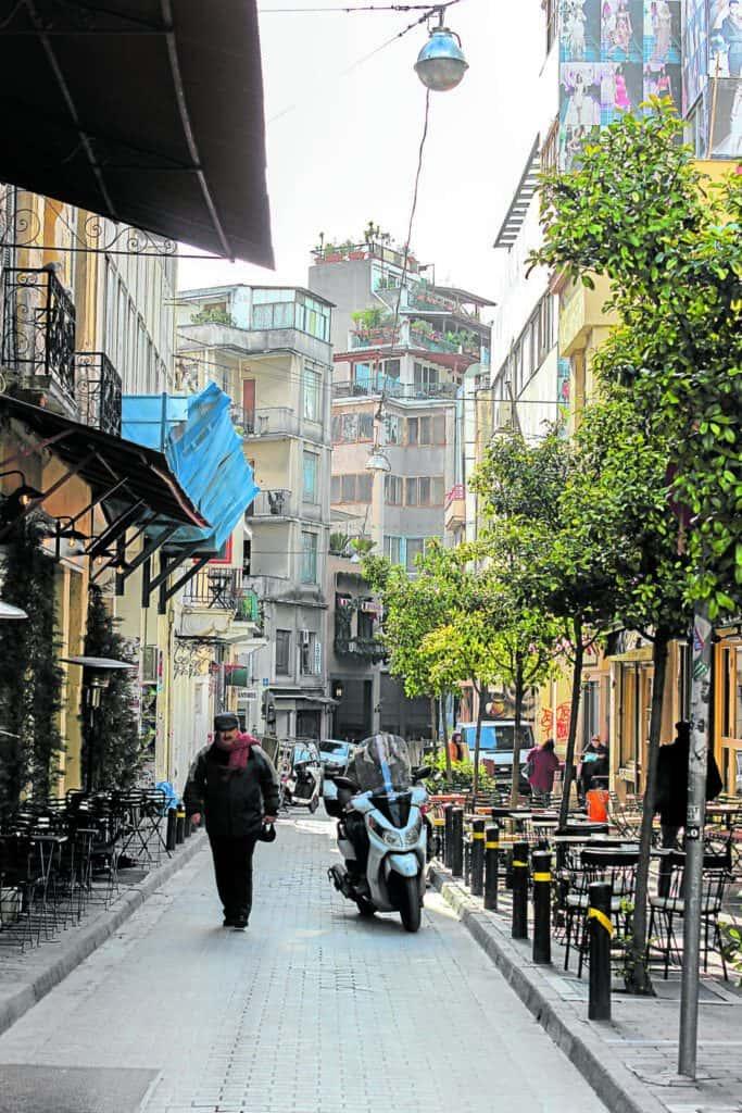 Narrow streets promote walking and micro mobility. —VIKTORIA SPOKOJNA