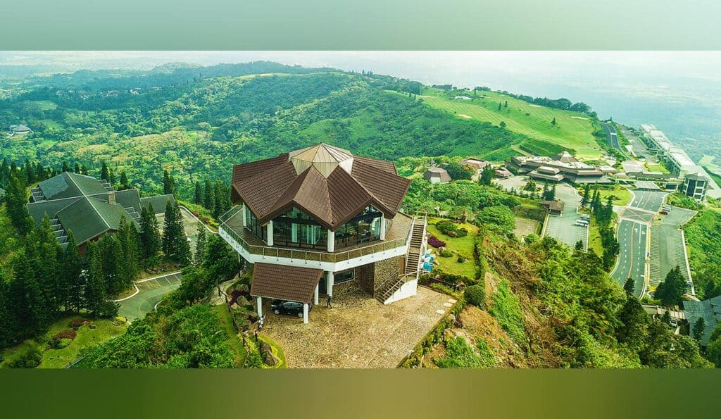Tagaytay Highlands' tranquil setting, wide-open spaces, and lush mountainous area have made it a haven for homeowners and their guests.