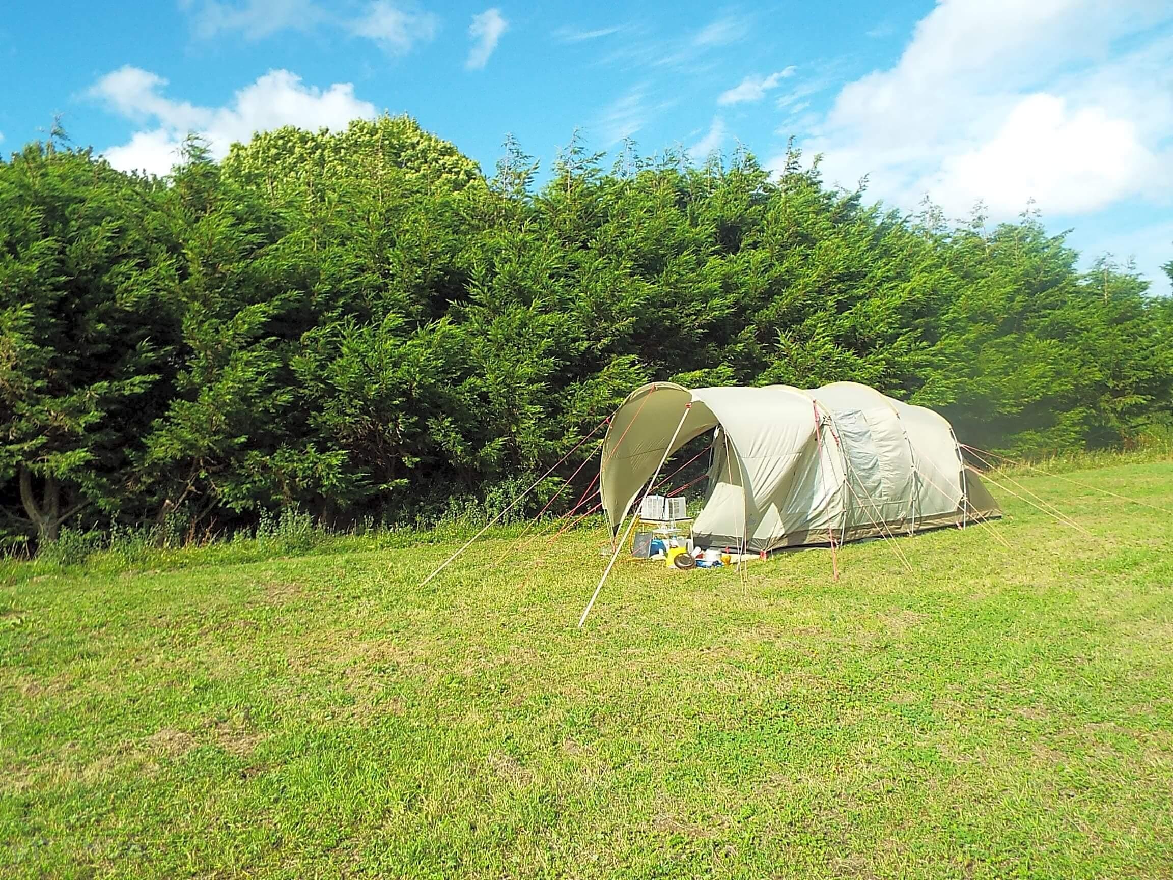 covert farm camping tent
