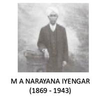 M A Narayana Iyengar