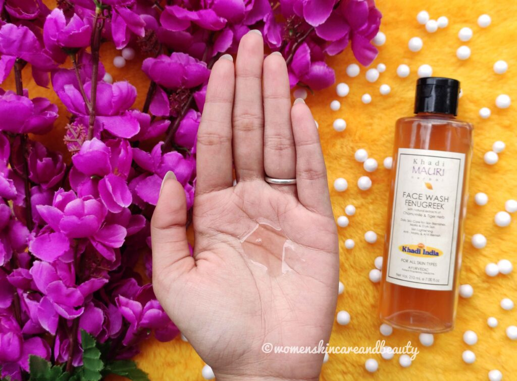 Khadi Mauri Herbal Fenugreek Face Wash