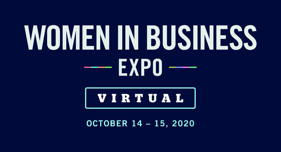 women in business expo virtual 14 - 15th Oct
