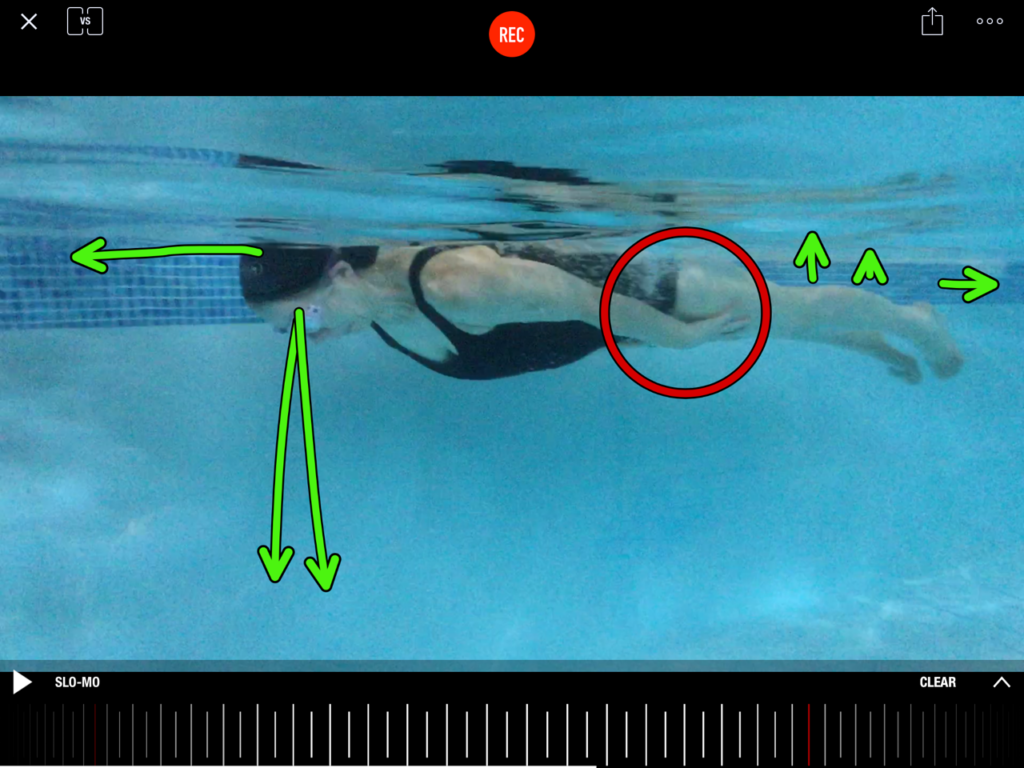 Swimmingly video anlysis